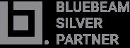 Bluebeam Silver-yhteistyökumppani -logo